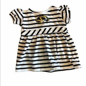 18 month MIzzou mascot dress